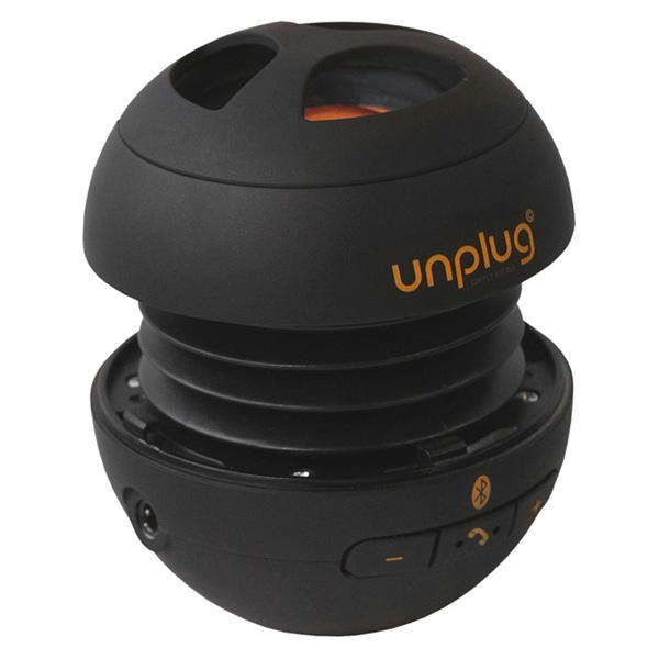 【Unplug法國工藝】miniBox攜帶型藍芽喇叭(內建麥克風)-霧面黑 (MINIBOX-BLACK)