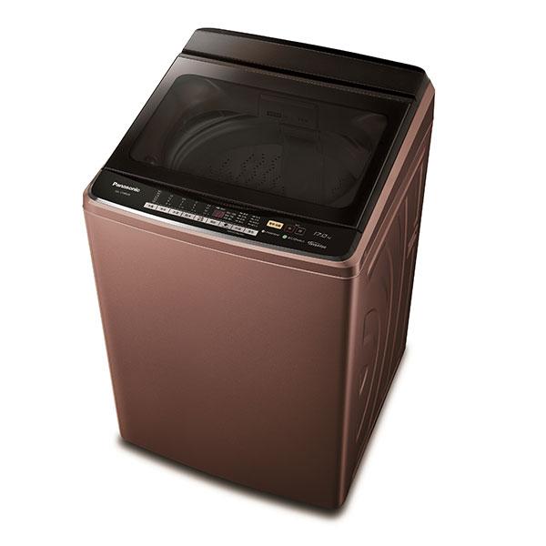 ★黃金週特惠★【Panasonic國際牌】變頻洗衣機17KG(晶燦棕) (NA-V188DB-T)