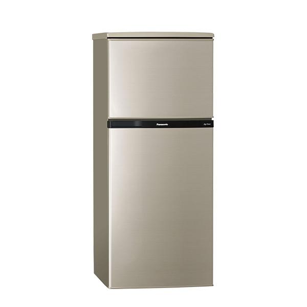 Panasonic國際牌 雙門冰箱130L(亮彩金) (NR-B139T-R)★即日起~8/20,買再送強化玻璃減油保鮮盒★