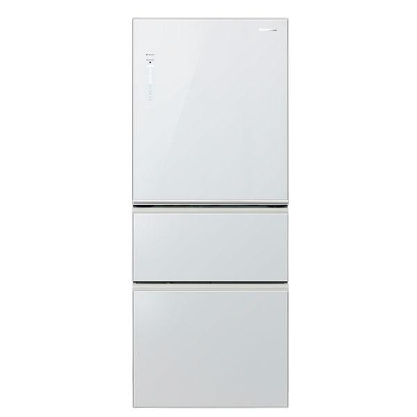 【Panasonic國際牌】NANOE玻璃變頻三門冰箱500L (NR-C508NHG-W)