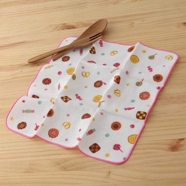 【taoru】和的風物詩  點心時間 - 日本毛巾 30x30 cm(仕女手巾、紗布毛巾) (NS_JK_3562)