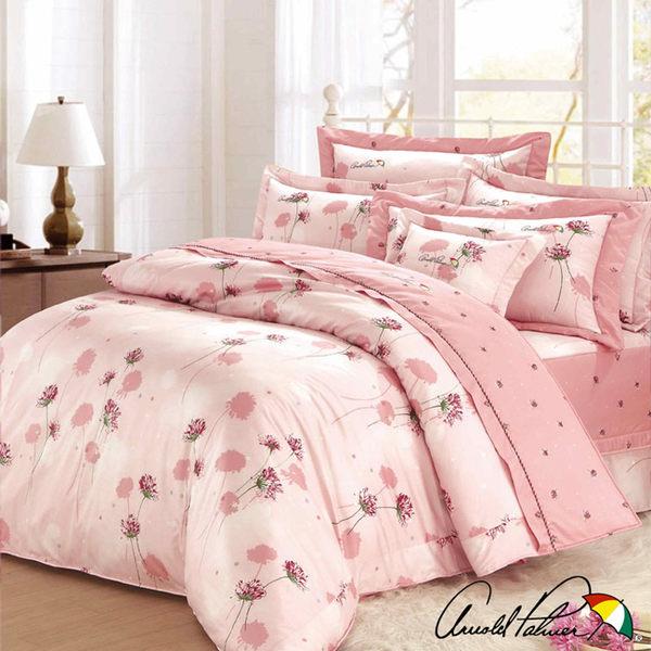【Arnold Palmer雨傘牌】花與夢境-60紗精梳純棉床罩雙人七件組 (P042666685777)