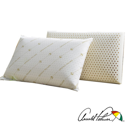 【Arnold Palmer雨傘牌】透氣立體結構棉網乳膠枕1入 (P042666727117)