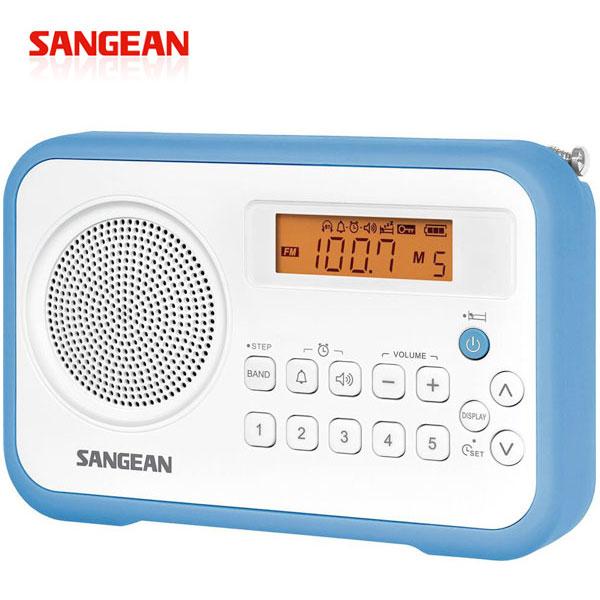 【SANGEAN山進】二波段數位式時鐘收音機 (PR-D30)