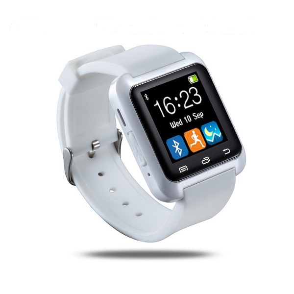 【iFace】藍芽觸控智慧手錶-白色(加贈原廠保護貼) (Q1C-WH)