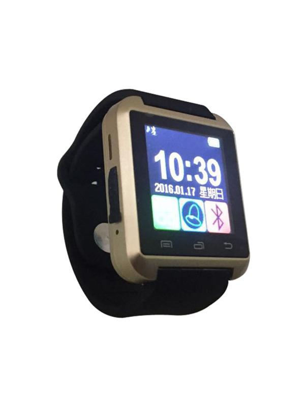 【iFace】藍芽觸控智慧手錶-金色(加贈原廠保護貼) (Q1H-GL)