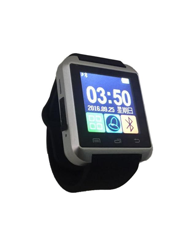 【iFace】藍芽觸控智慧手錶-銀色(加贈原廠保護貼) (Q1H-SV)