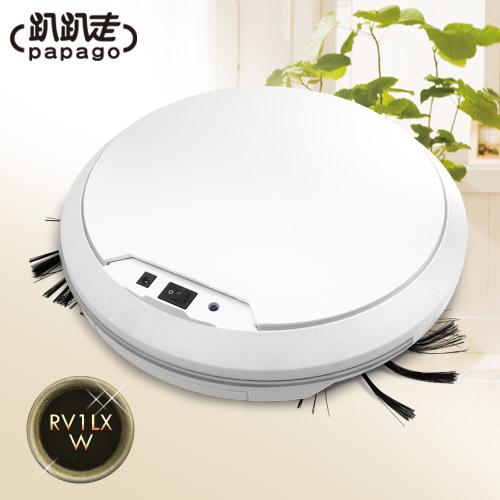 【趴趴走】智慧型吸塵器機器人(白色) (RV1LX-W)