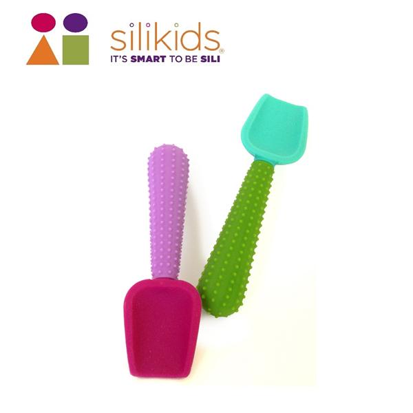 【silikids】固齒器學習湯匙(2入) (S10-015-10)