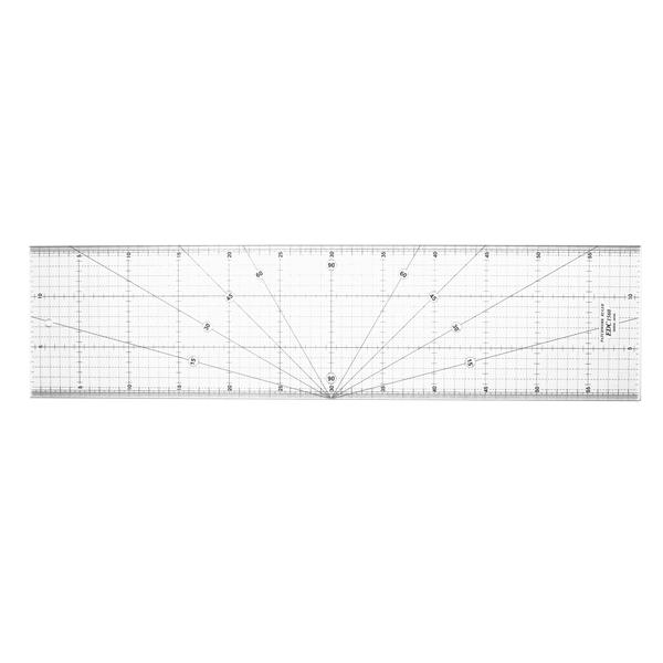 【日本車樂美JANOME】專業防刮拼布尺15x60cm (S191413EDC15600)