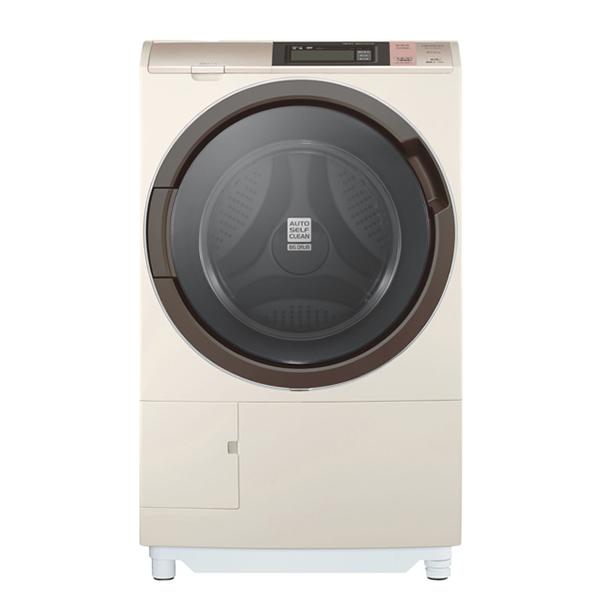 【日立】日製飛瀑洗脫烘變頻滾筒洗衣機12.5KG(香檳金) (SFSD6200W-N)