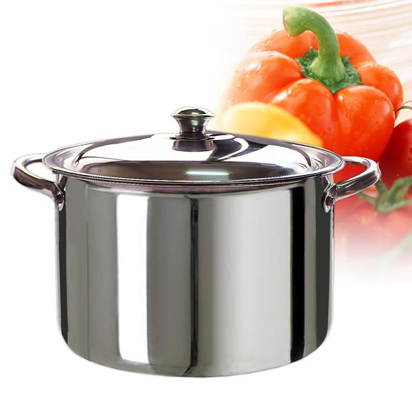 【304嚴選】不鏽鋼湯鍋26cm (SUG12665)