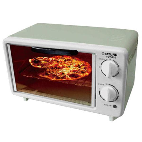 【TATUNG大同】8L電烤箱(福利品) (TOT-810)