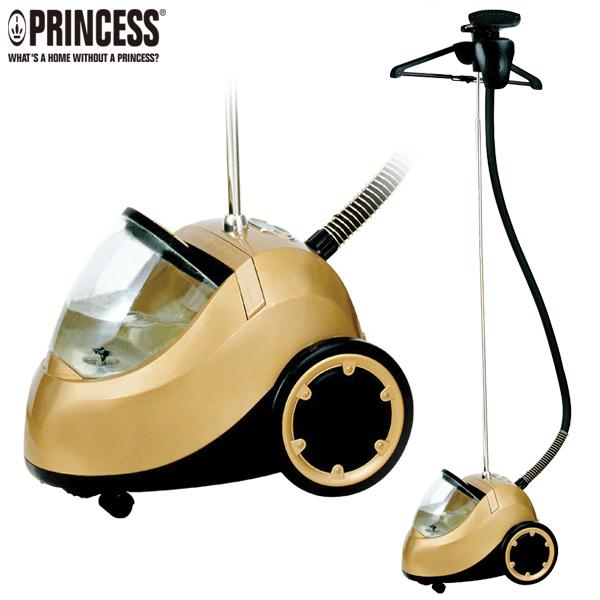 ☆本月特價↘【Princess荷蘭公主】專業級直立式掛燙機/蒸氣熨斗-金色 (TPRHA332832)