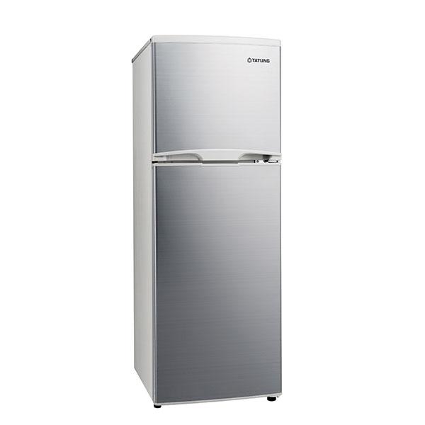 【TATUNG大同】雙門冰箱175L-白金銀 (TR-B175HT-S)