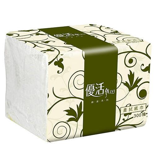 【Livi優活】單抽式柔拭紙巾300抽x72包/箱 (TR1BL6) 餐飲業最愛