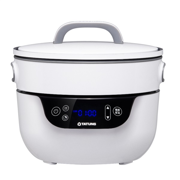 【白色系列家電】白色能量創造五星級美食【TATUNG大同】複合料理無水鍋 (TSB-3016EA)