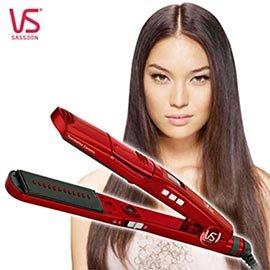 【沙宣】閃漾負離子直髮夾-紅 (VSSS9W)