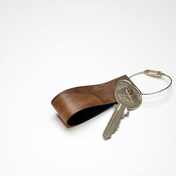 一郎木創 - 木革鑰匙圈(胡桃) (WG-002-1)